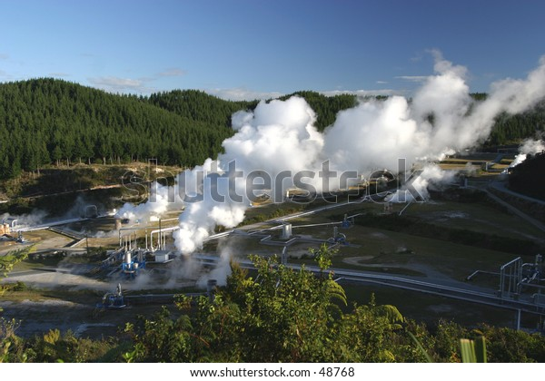Geothermal Energy Plant, New Zealand