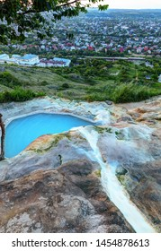 Geothermal mineral bathes early in the morning.
