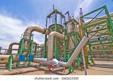 Geothermal Power Plant in Mexicali, Baja California. MEXICO