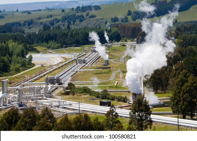 Geothermal power station alternative energy