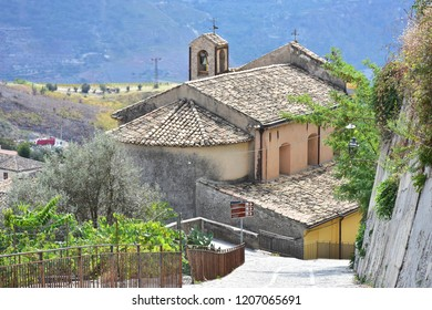 Gerace village in South of Calabria in Italy