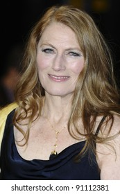 """Geraldine James arriving for the premiere of """"The Girl with The Dragon Tattoo"""" at the Odeon Leicester Square, London. 13/12/2011. Picture by: Steve Vas / Featureflash"""