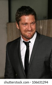 Gerard Butler  at the Los Angeles Premiere of 'Rocknrolla'. Pacific Cinerama Dome, Hollywood, CA. 10-06-08