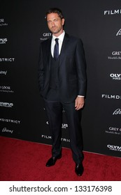 "Gerard Butler at the ""Olympus Has Fallen"" Los Angeles Premiere, Arclight, Hollywood, CA 03-18-13"