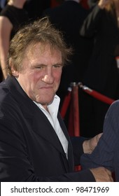 GERARD DEPARDIEU at the 55th Annual Primetime Emmy Awards in Los Angeles. Sept 21, 2003  Paul Smith / Featureflash