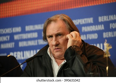 Gerard Depardieu attends the 'Saint Amour' press conference during the 66th Berlinale International Film Festival Berlin at Grand Hyatt Hotel on February 19, 2016 in Berlin, Germany.