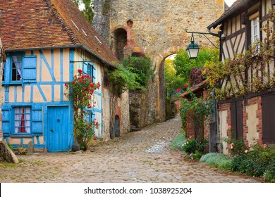 Gerberoy, beautiful village of France
