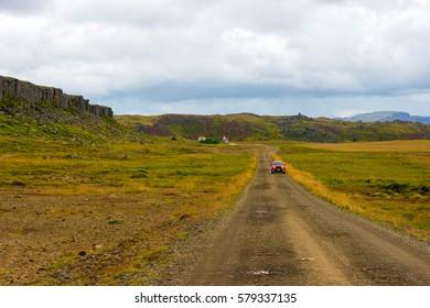 Gerduberg basalt columns, Iceland