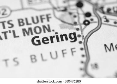 Gering. Nebraska. USA