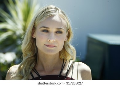 German actress Diane Kruger poses during the photo call of the jury of the 65th Cannes film festival on May 16, 2012 in Cannes