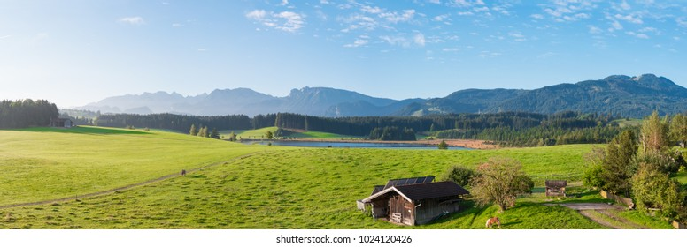 German Alps Panorama