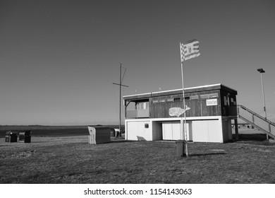 german baywatch house on nord sea