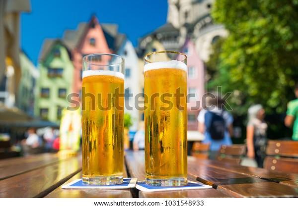 Bière allemande Kölsch à Cologne