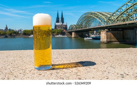 German beer from Cologne,germany