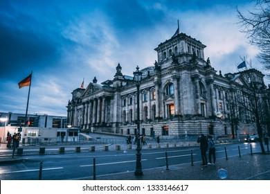 German Bundestag Goverment Building