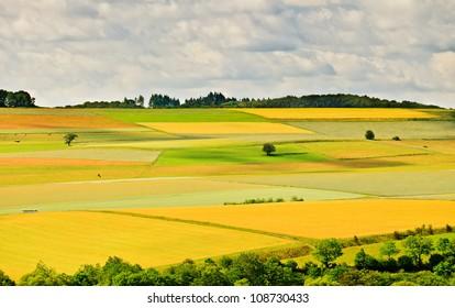 German countryside at summer, Sauerland