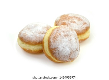 Donuts with Stuffing Images, Stock Photos & Vectors