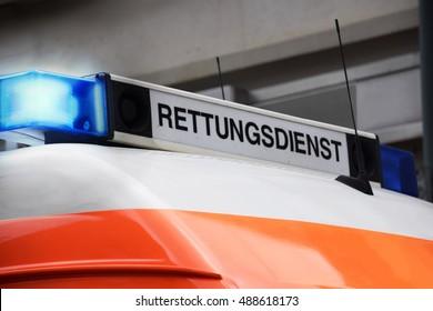 german emergency medical service