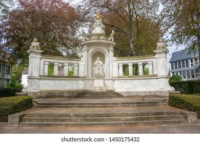 German Empress Augusta Victoria (Kaiserin Augusta Deutsche Kaiserin und Königin von Preußen) Memorial Koblenz Rhineland Palatinate Germany