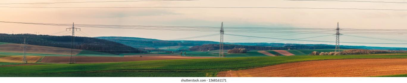 german Landscape at Morning
