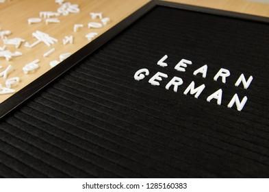German language sign