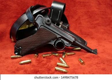 German Luger P08 9mm Bullets