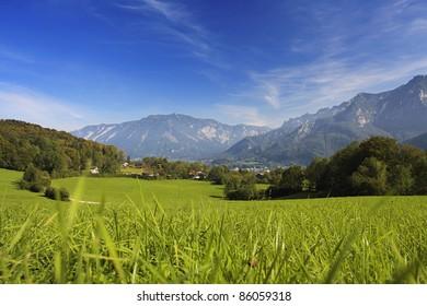 german mountain village bad reichenhall