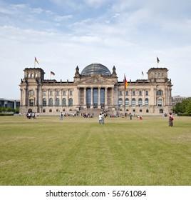 German Reichstag in Berlin