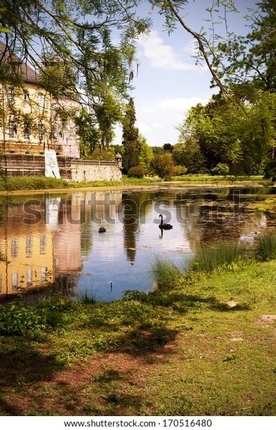 German Schloss, Palace Grounds