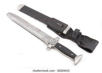 German standard dirk of corporal of army medical service (all branch) with scabbard.  ONLY FOR HISTORICAL PURPOSES!!!