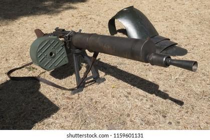 A German standard machine gun 08/15 from the First World War
