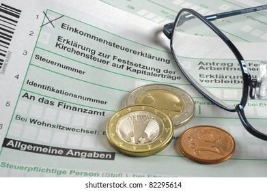 german tax form