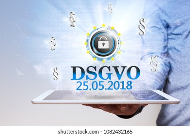 German text DSGVO, translate General Data Protection Regulation.