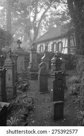 German village cemetery - Nova Petropolis - Rio Grande do Sul - Brazil