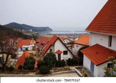 German Village, Namhae, South Korea