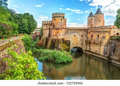 The German's Gate or Porte des Allemands in french from the 13th century in Metz, France