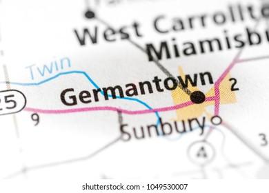 Germantown. Ohio. USA