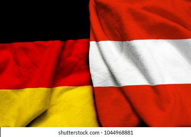 Germany and Austria flag together