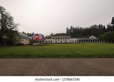 GERMANY, BADEN-BADEN, APRIL 13, 2019: Kurhaus of Baden-Baden