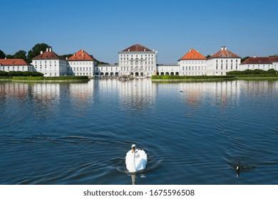Germany, Bavaria, Oberbayern, Munich, München, July 12th 2019, Nymphenburg Palace