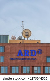 Germany , Berlin , 09.09.2018 , The capital city studio of television station ARD