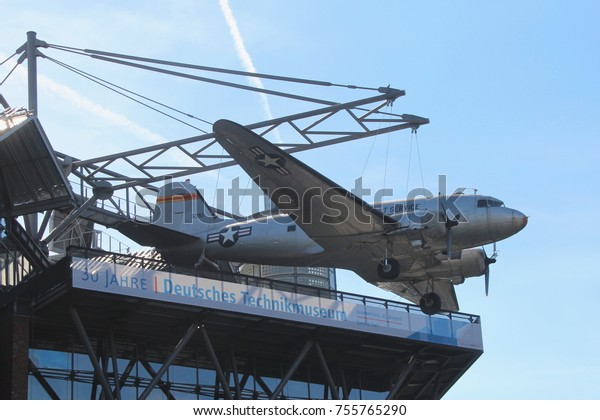 GERMANY, BERLIN, AUGUST 16, 2013: Raisin Bomber at the German Museum of Technology