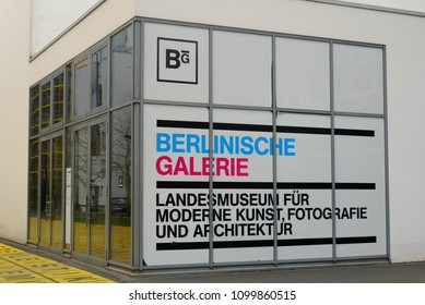 Germany, Berlin, February-2018: Berlin gallery of contemporary art, photography and architecture