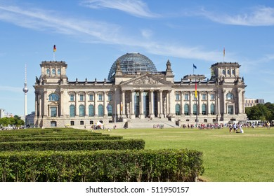 Germany, Berlin, Government, Reichstag