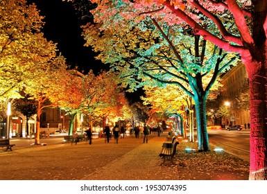 Germany. Berlin. Kolors of the festival of light - Shutterstock ID 1953074395
