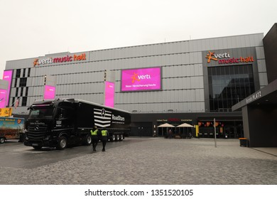 GERMANY, BERLIN, MARCH 03, 2019: Verti Music Hall at Mercedes Platz in Berlin