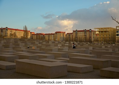 Germany. Berlin. Memorial to the Holocaust Victims in Berlin. February 16, 2018
