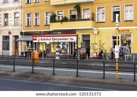 cc4192346ec670 Germany Berlin Prenzlauer Berg Eberswalder Str Stock Photo (Edit Now ...