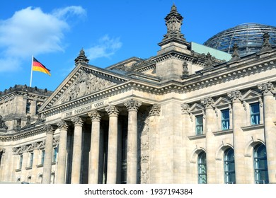 Germany - Berlin – September 27,2014: The Reichstag building in Berlin is the seat of the parliament of the German Reich. It was inaugurated in 1894 and returned to its headquarters in 1999.