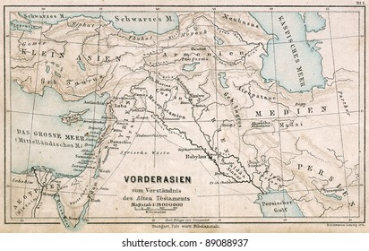 ancient middle east map Images, Stock Photos & Vectors | Shutterstock